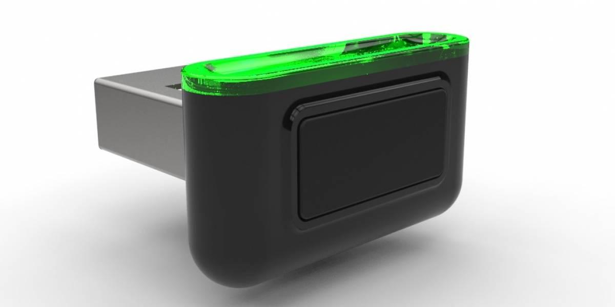 Esta unidad USB agrega un sensor de huellas a cualquier computadora portátil