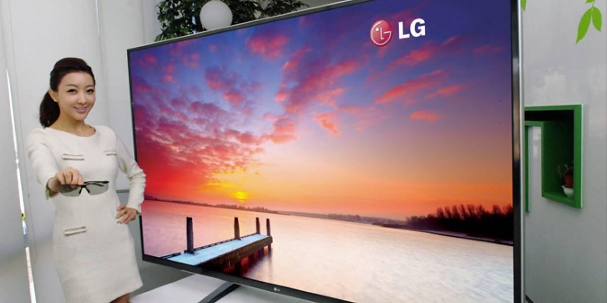 LG lanza televisor 4K de 84 pulgadas, no hay películas para ver