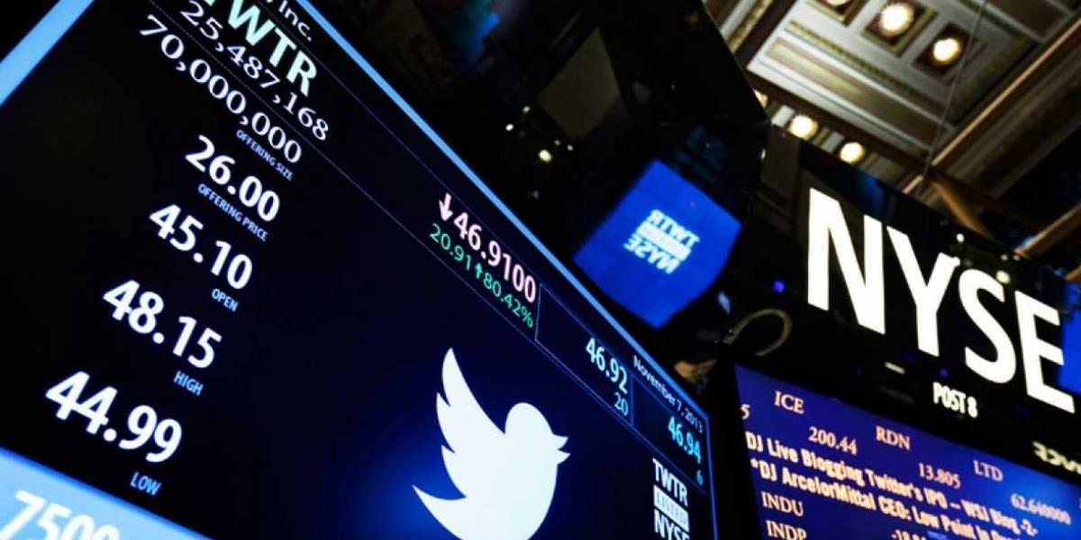 Acciones de Twitter se desploman al quedarse sin compradores