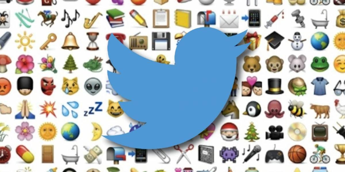 Ahora los emojis tendrán carácter publicitario en Twitter