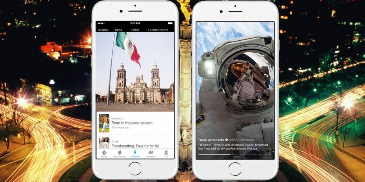 Twitter lanza Moments en México