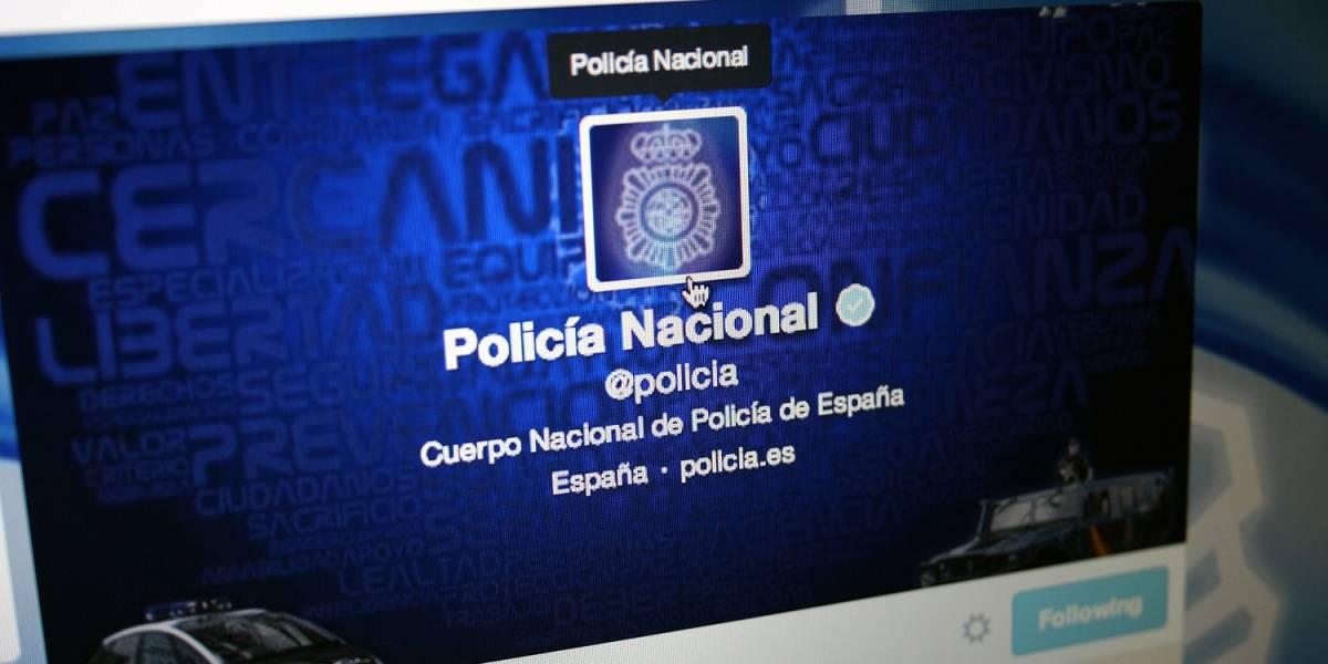 Policia y Twitter activan las alertas urgentes a usuarios de España