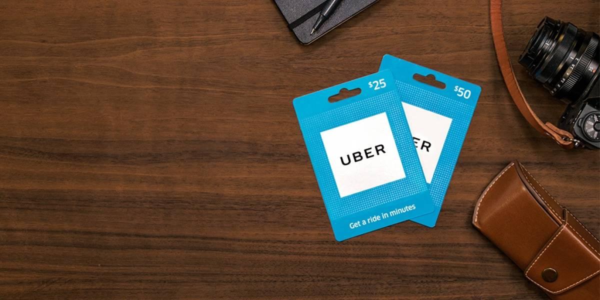 Uber lanza tarjetas de prepago en Estados Unidos