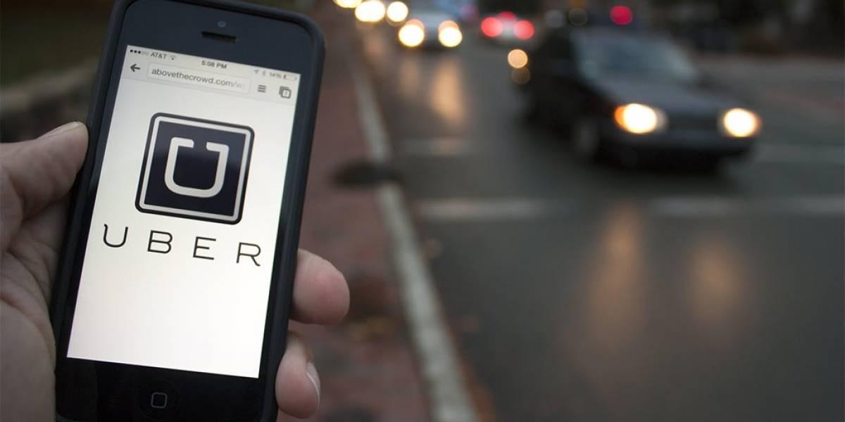 Uber suspende tarifa dinámica en Santiago por temporal