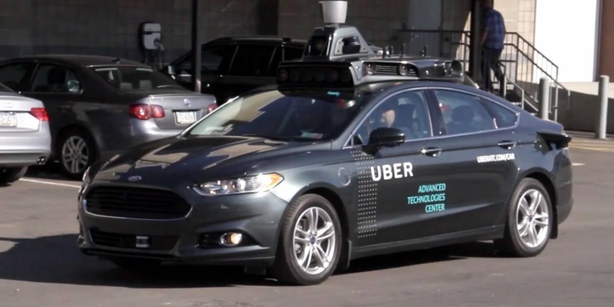 Uber ya realiza viajes en vehículos autónomos en los Estados Unidos