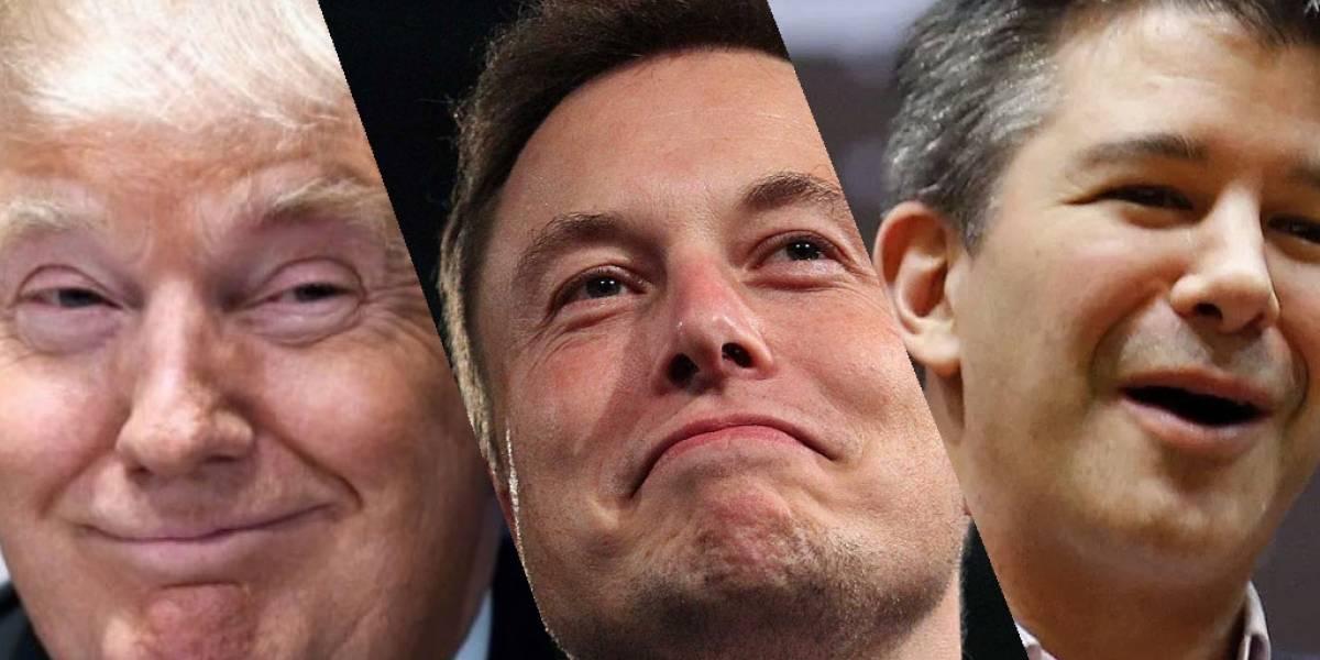 Los CEO de Tesla y Uber se unen al equipo de Donald Trump