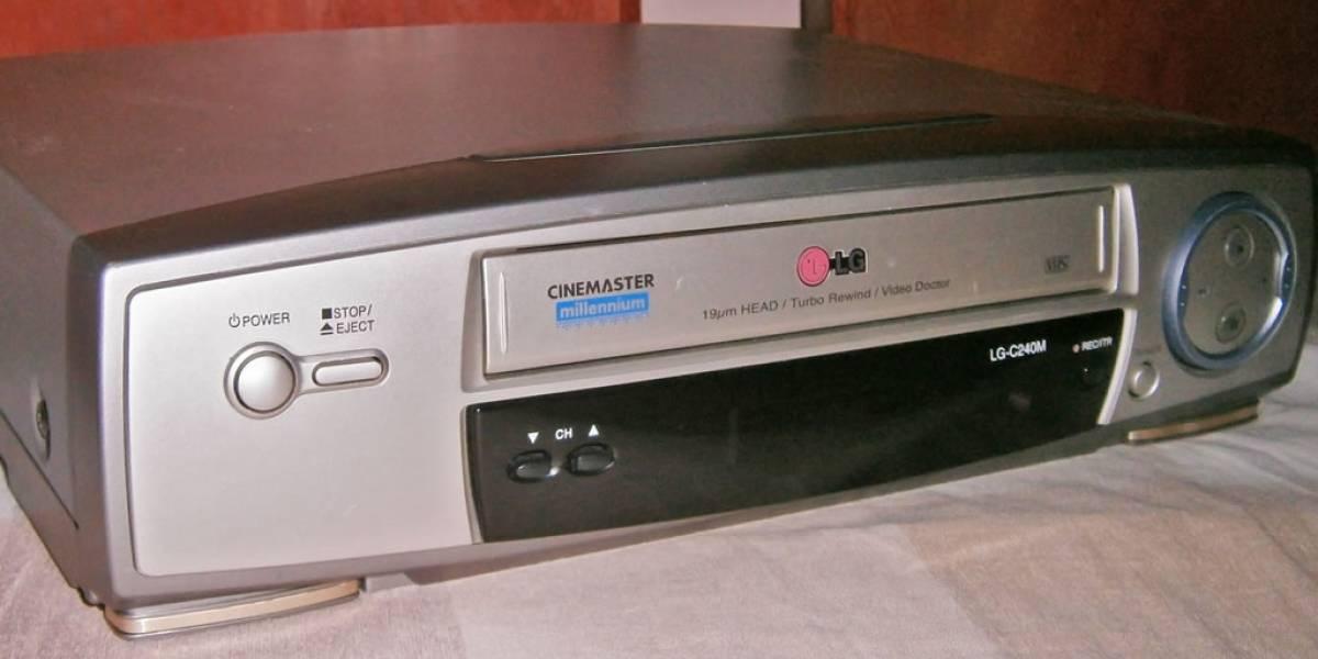 Adiós al gran VHS: Anuncian la fabricación de la última videograbadora