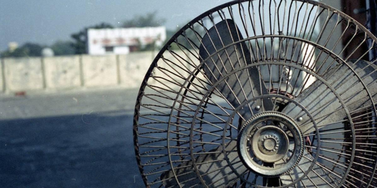 El origen del ventilador