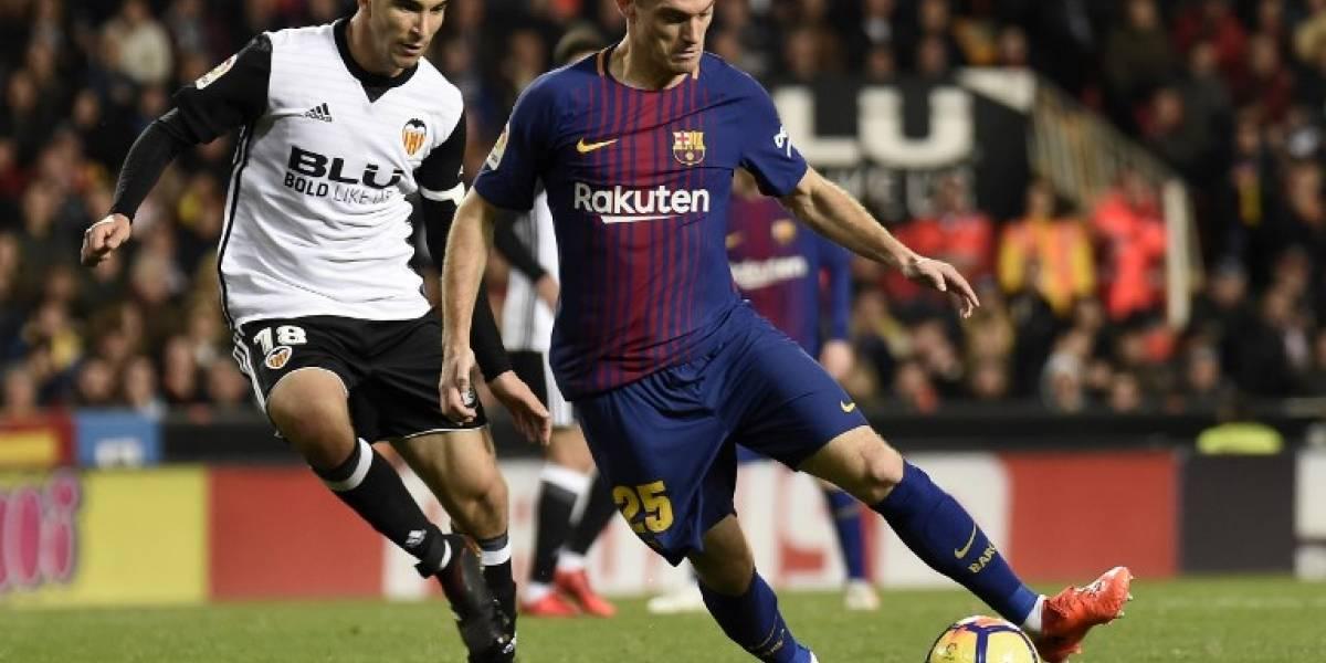 Vermaelense vuelve a lesionar con el Barcelonay podría perder su puesto