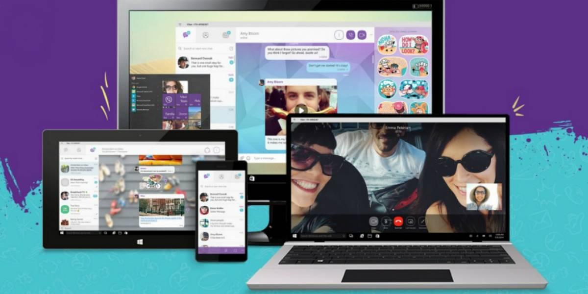 Microsoft anuncia aplicación universal de Viber para Windows 10