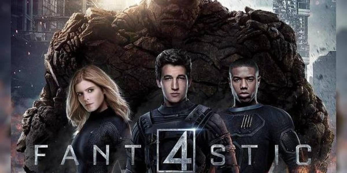 Desastre en taquilla en el estreno de Fantastic Four
