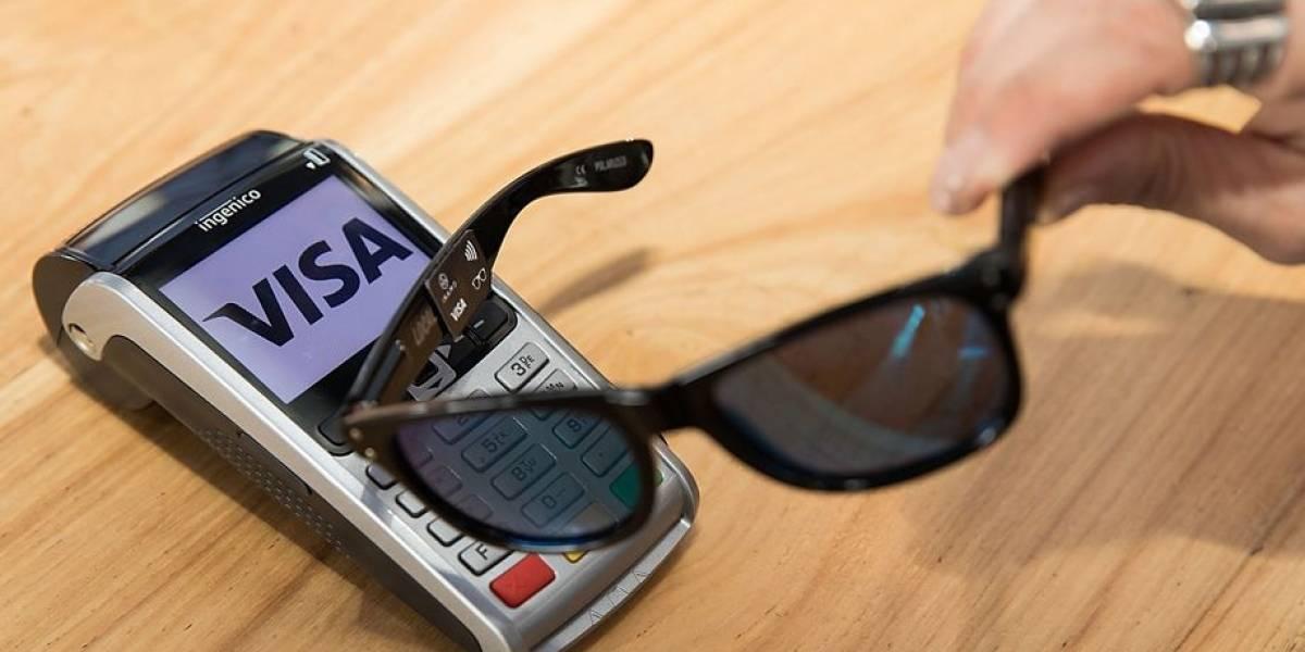 Visa crea lentes de sol para pagar sin necesidad de tarjetas
