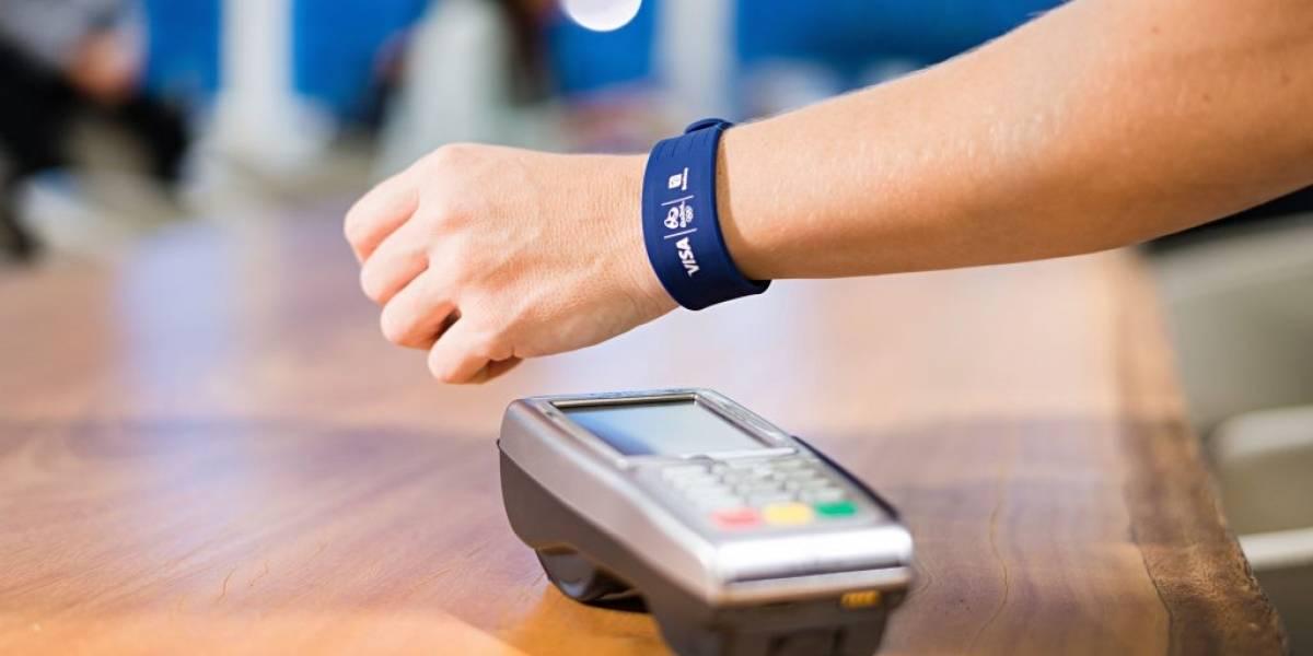 Visa presenta pulsera para agilizar pagos en los Juegos Olímpicos 2016