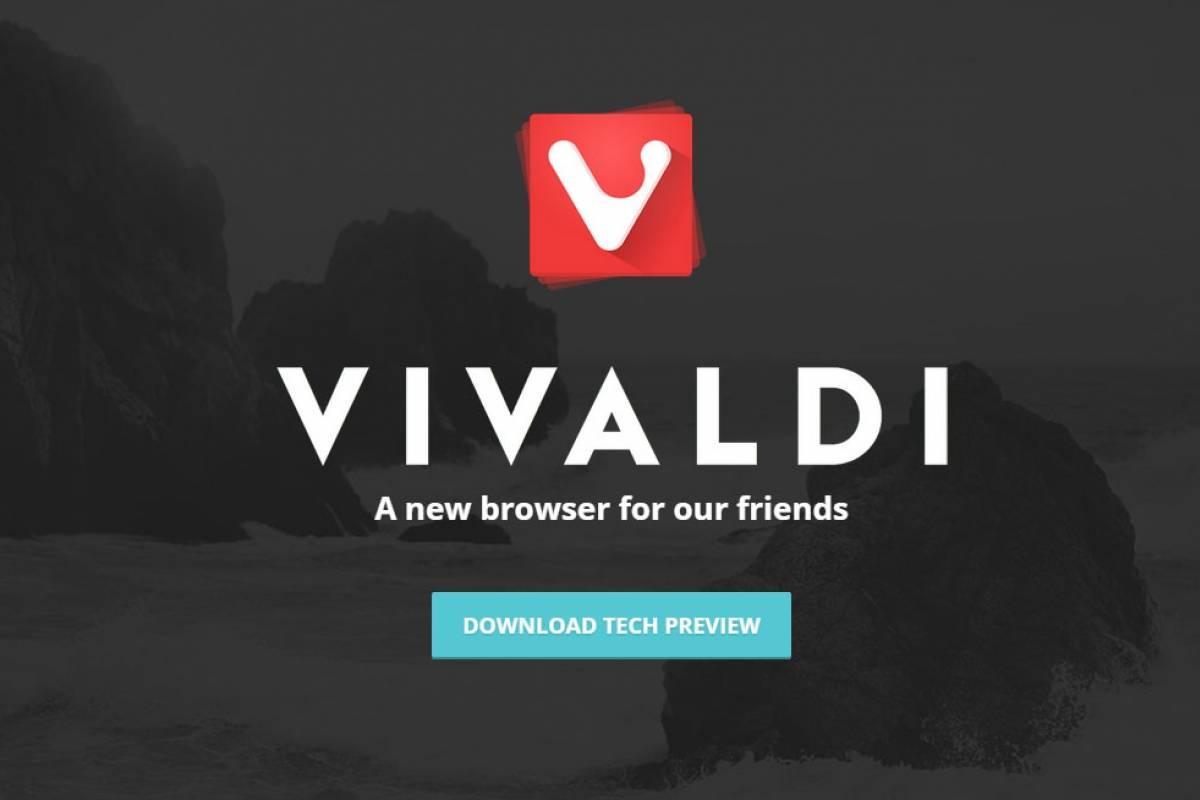 Vivaldi es un nuevo navegador para los que extrañan el viejo Opera