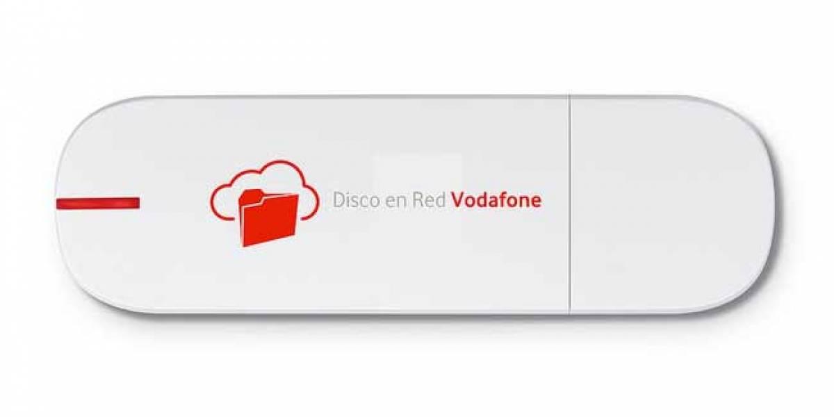 España: Vodafone ofrece un servicio de módem y disco duro en la nube