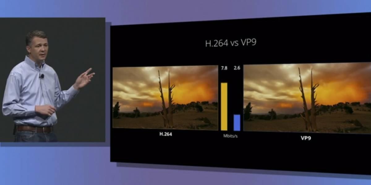 Google quiere que todo el mundo utilice el formato VP9 para los videos #IO13
