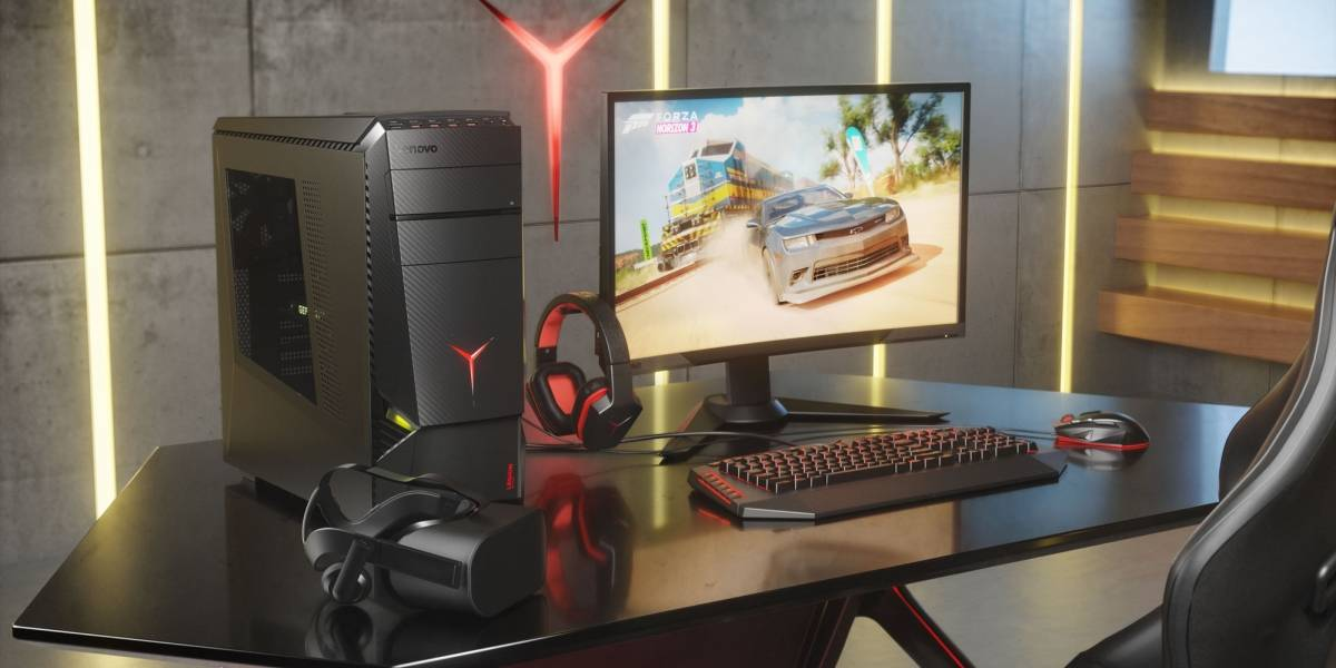 Lenovo anuncia tres computadores para gamers