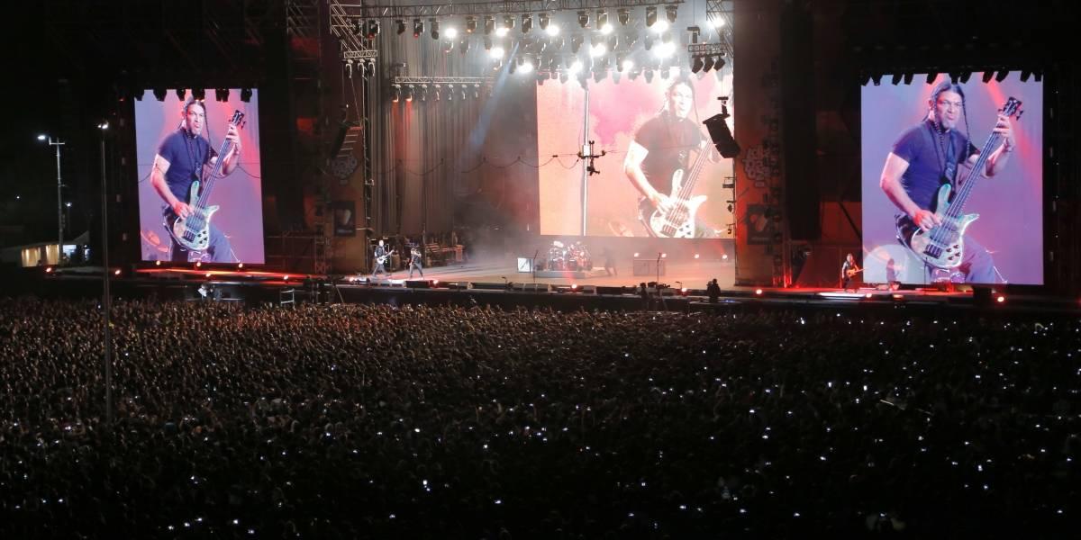 Transmisión de Lollapalooza Chile supera los dos millones de espectadores