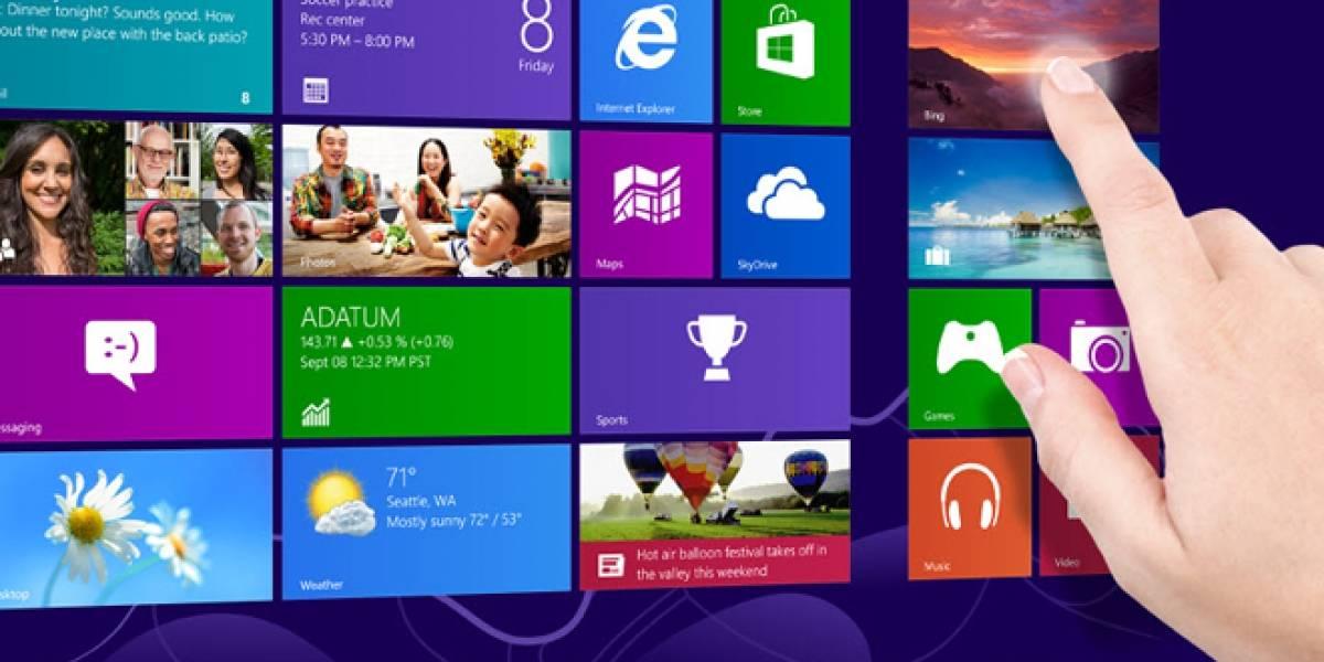 La mayoría de usuarios de Windows 8 usa una app de Modern UI menos de una vez al día