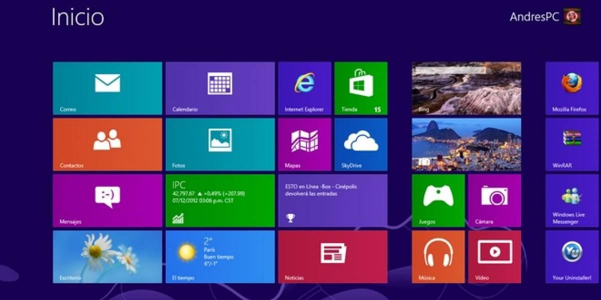 Microsoft responde a las críticas a Windows 8