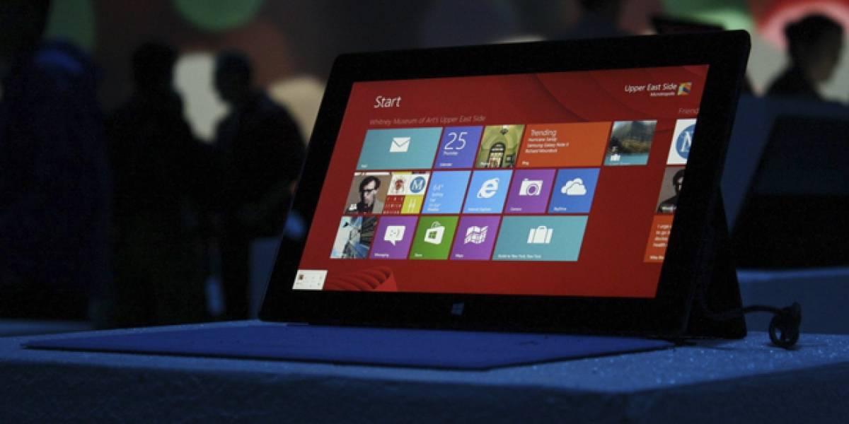 Microsoft ve bajar su índice de satisfacción del consumidor gracias a Windows 8