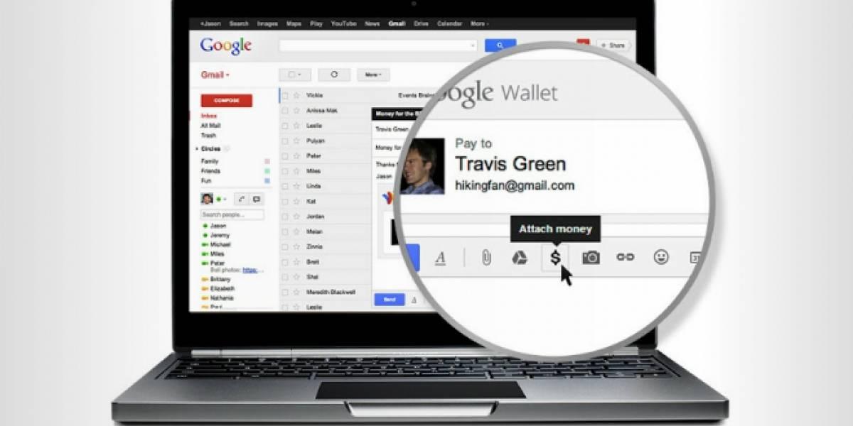 Google integra Wallet con Gmail para transferir dinero por e-mail