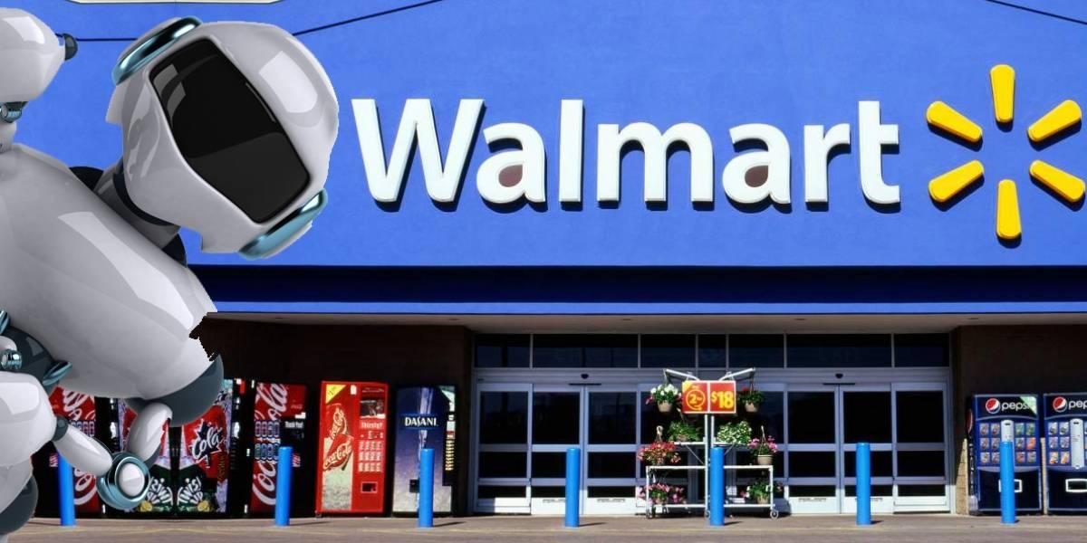 Walmart contrata a 40 robots para escanear artículos en tiendas