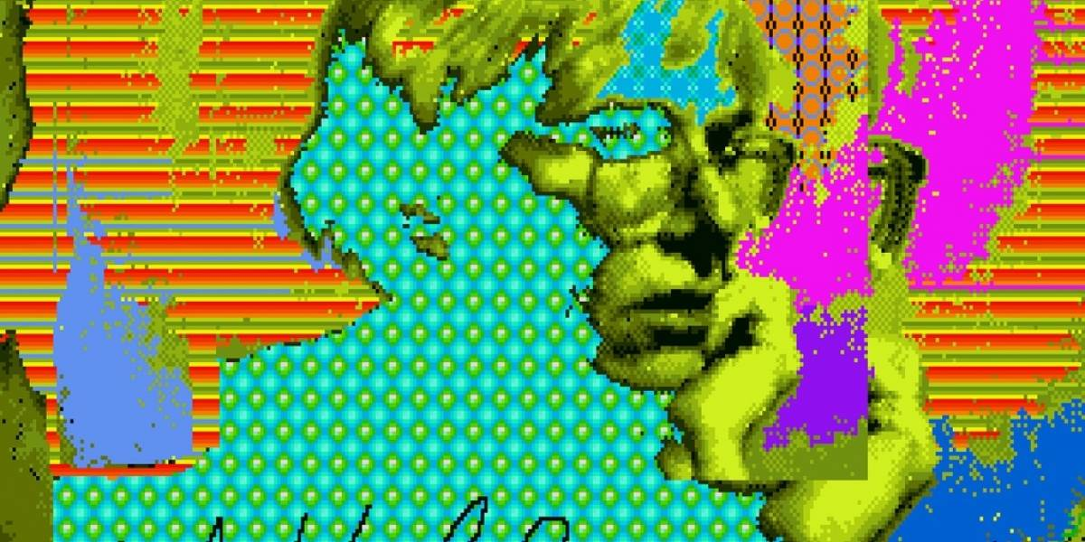 Encuentran obras inéditas de Andy Warhol en disquetes de hace 30 años