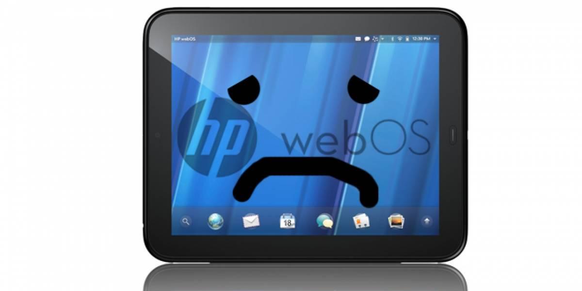Futurología: HP pretende vender webOS por millones de dólares