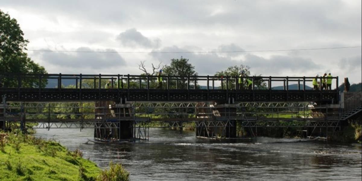 Europa cuenta con su primer puente de plástico
