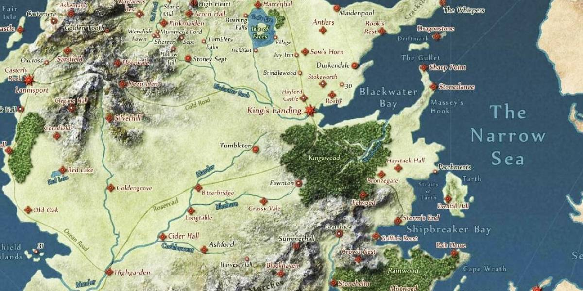 El mundo de game of thrones al estilo google maps gumiabroncs Images