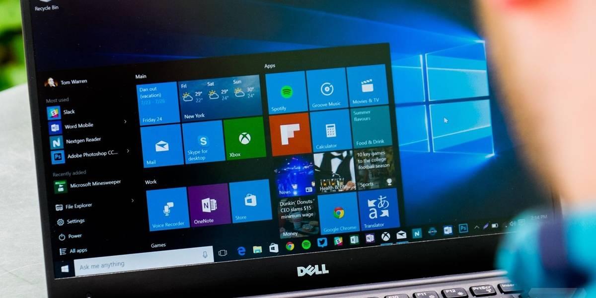 Administrador de tareas de Windows 10 agrupará los procesos