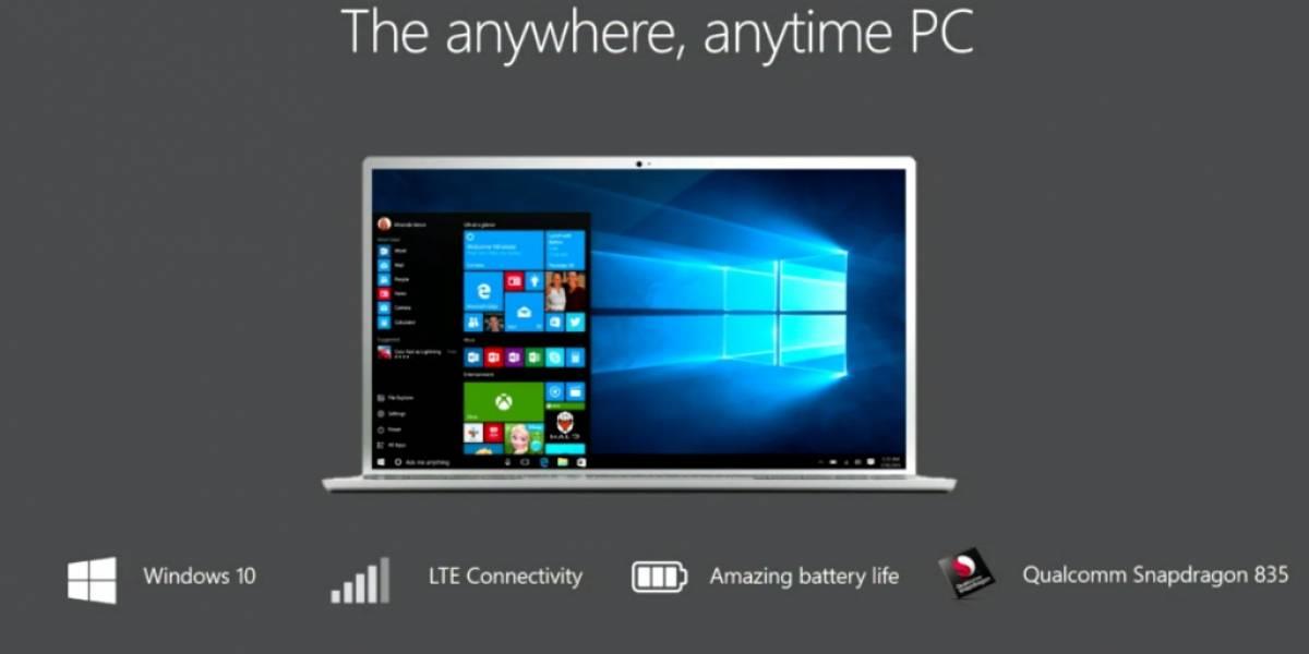 Windows 10 para ARM correrá apps x86 que no estén en la tienda