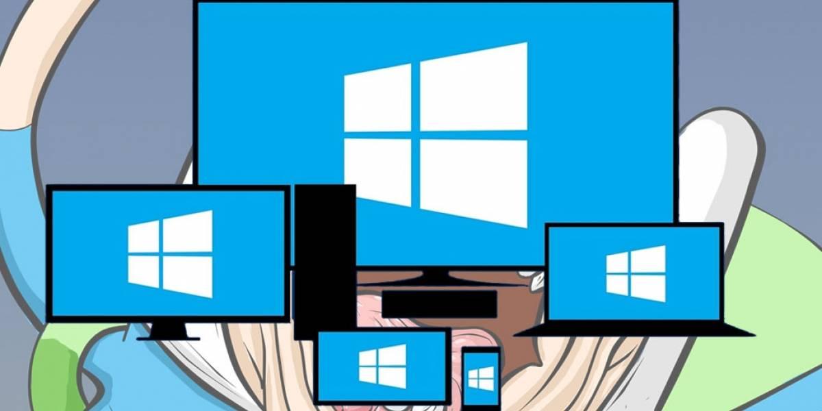 Windows 10 está haciendo bajar las ventas de computadoras
