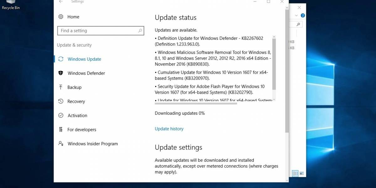 Updater Disabler deshabilita las actualizaciones de Windows 10