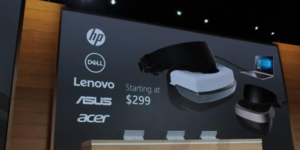 Microsoft da a conocer los requerimientos de sus lentes de realidad virtual