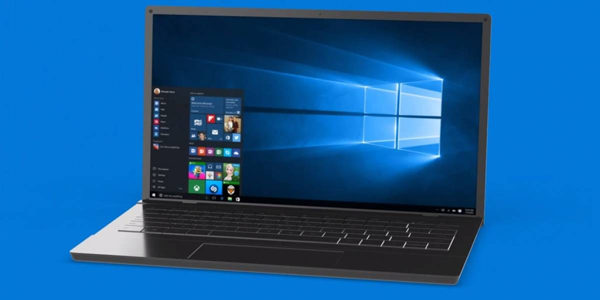 Microsoft reveló el fondo de pantalla de Windows 10