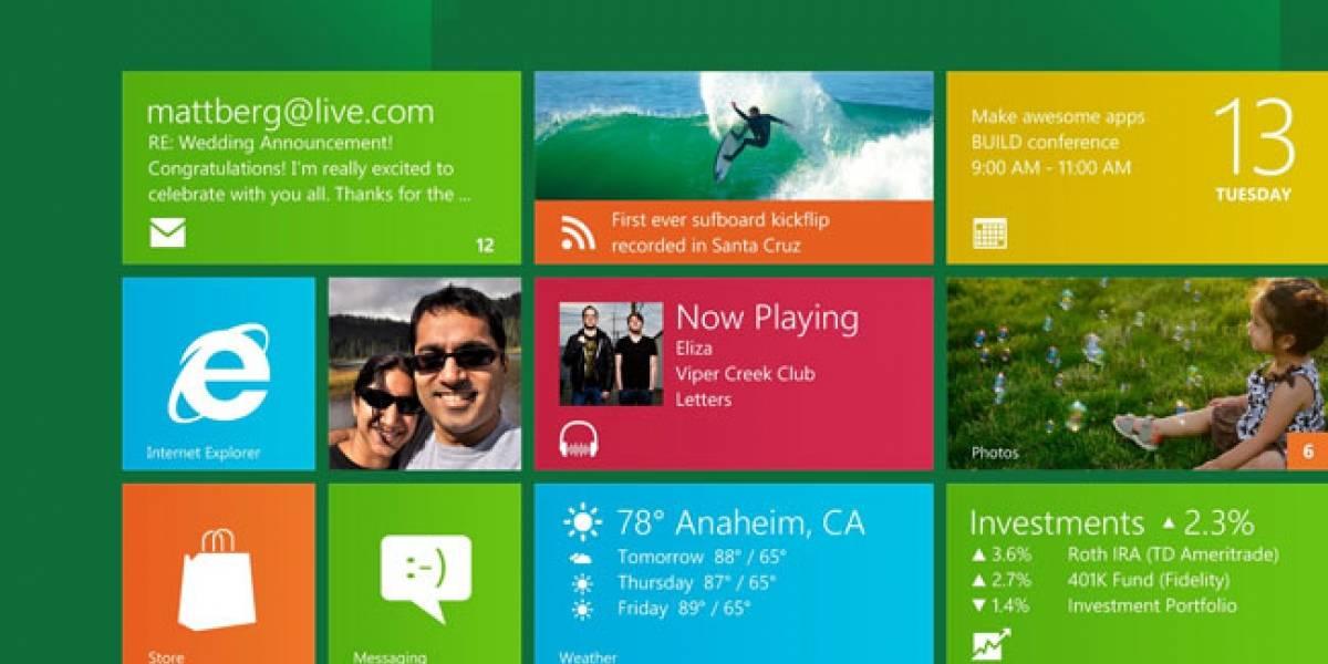 Microsoft ofrece Windows 8 RTM gratis por 90 días