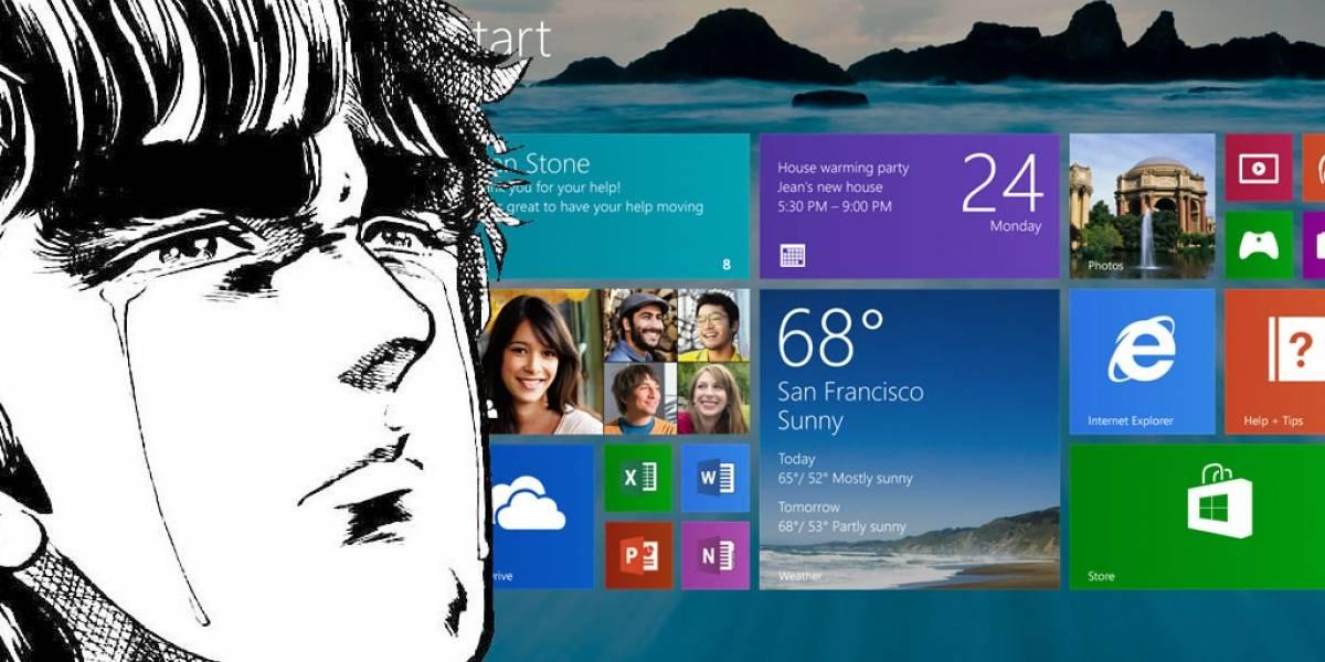 Microsoft corta ventas de computadoras con Windows 8.1 preinstalado
