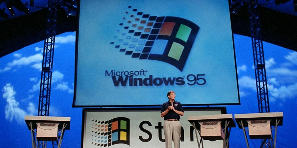 Hoy se cumplen 20 años del lanzamiento de Windows 95