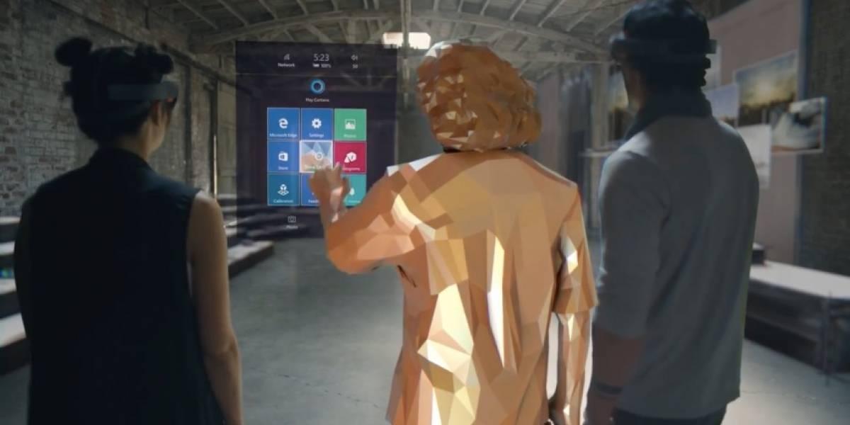 Windows Holographic llegará a todo tipo de plataformas para impulsar la realidad mezclada