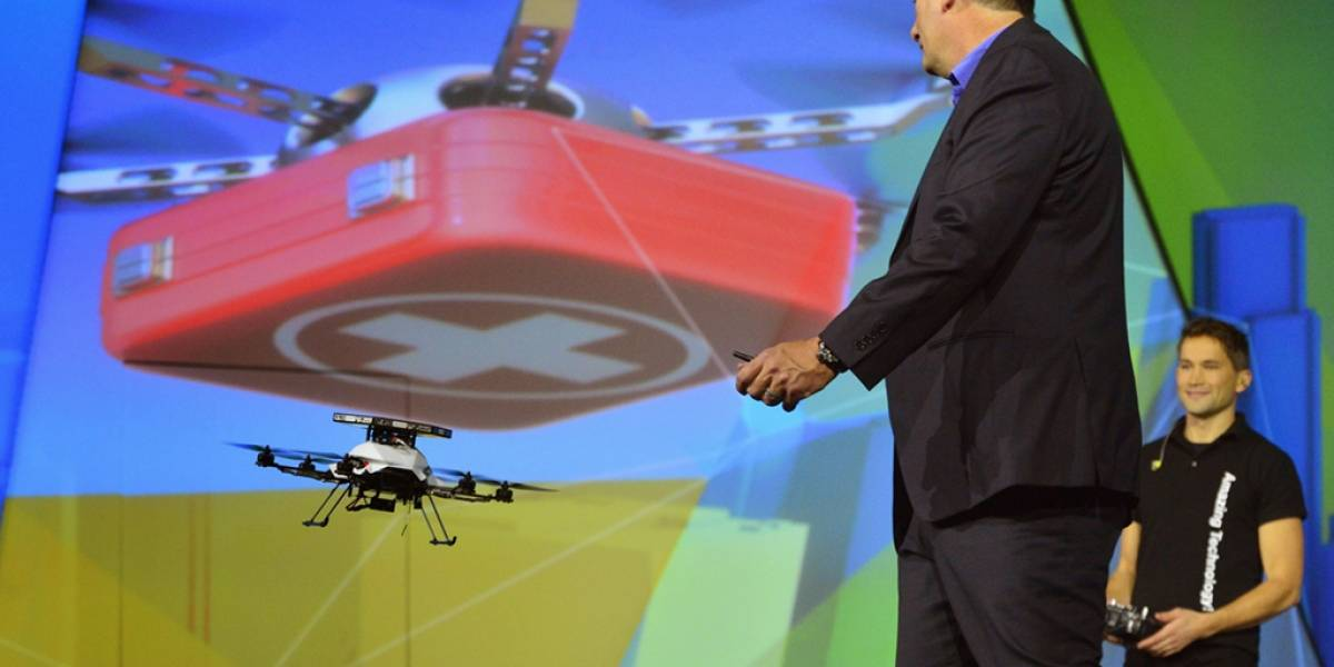 Drones capaces de ver en 360º con tecnología de Intel