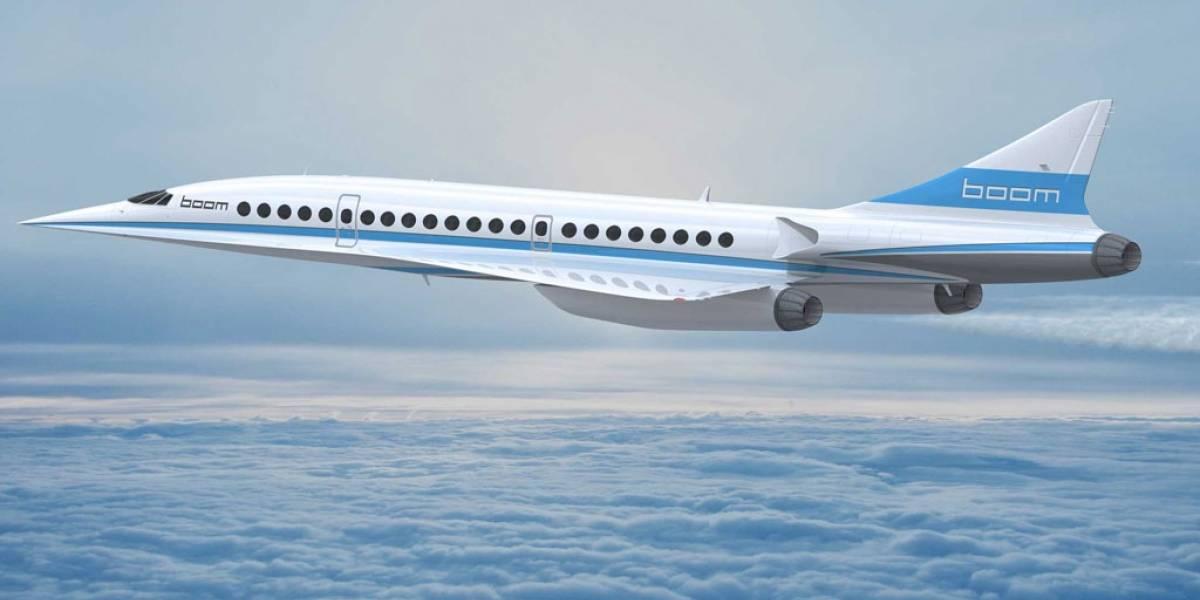 Boom Technologies presenta al sucesor supersónico del Concorde