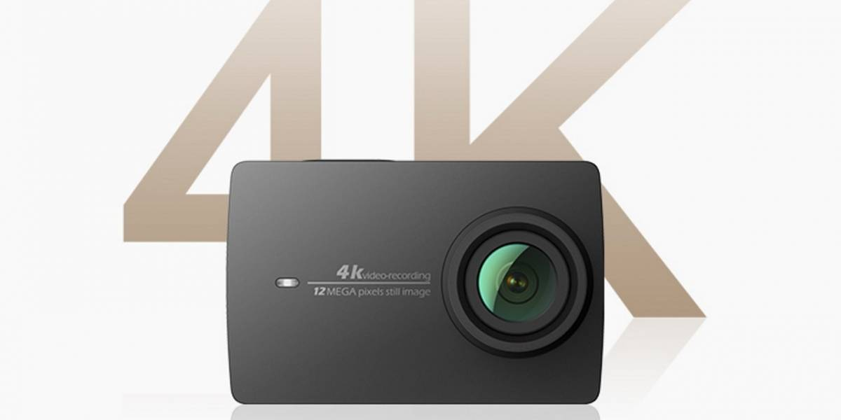 Xiaomi presenta una cámara deportiva para competir contra GoPro