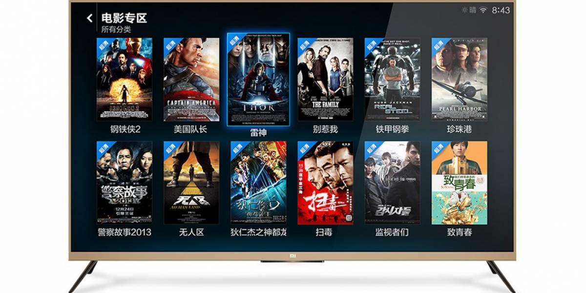 Xiaomi lanzará televisores inteligentes 4K de bajo costo