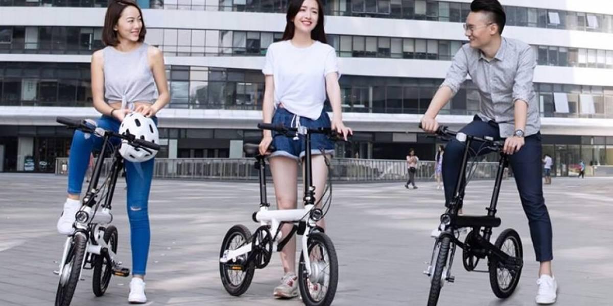 Xiaomi lanza una nueva bicicleta eléctrica totalmente plegable