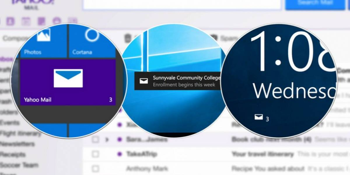 Yahoo descontinuará su cliente de correo para Windows 10