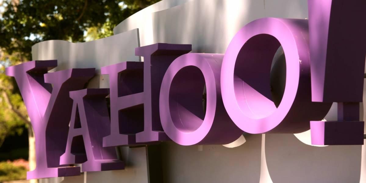 Así evolucionó la página de inicio de Yahoo!