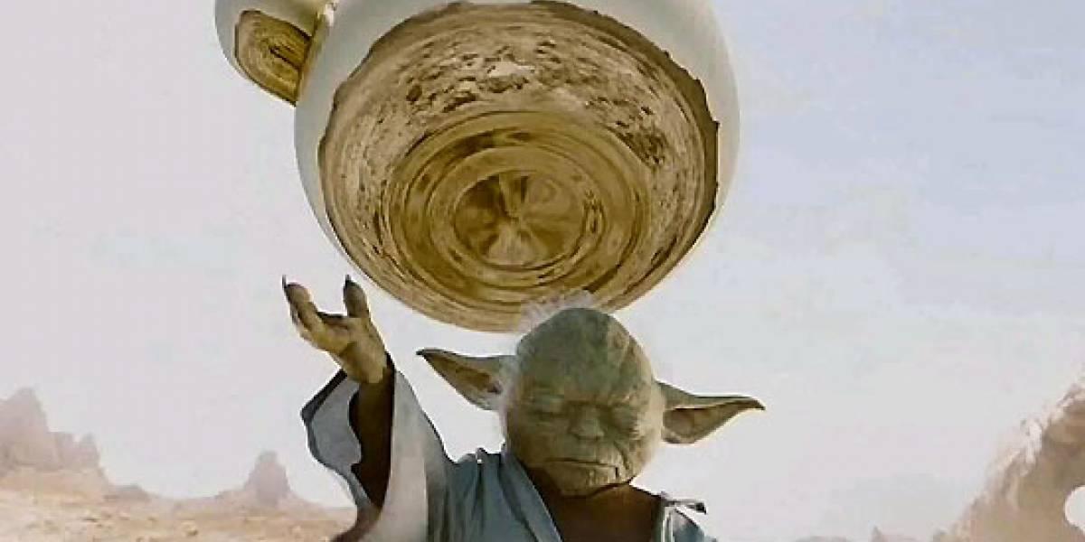 Yoda, el maestro Jedi de los noodles