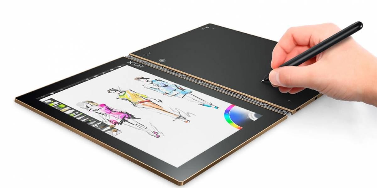 Lenovo quiere reinventar el segmento de las tablets con la Yoga Book #IFA2016